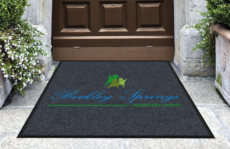 Berkley Springs Assisted Living 2 3 X 3 Rubber Backed Carpeted HD - The Personalized Doormats Company