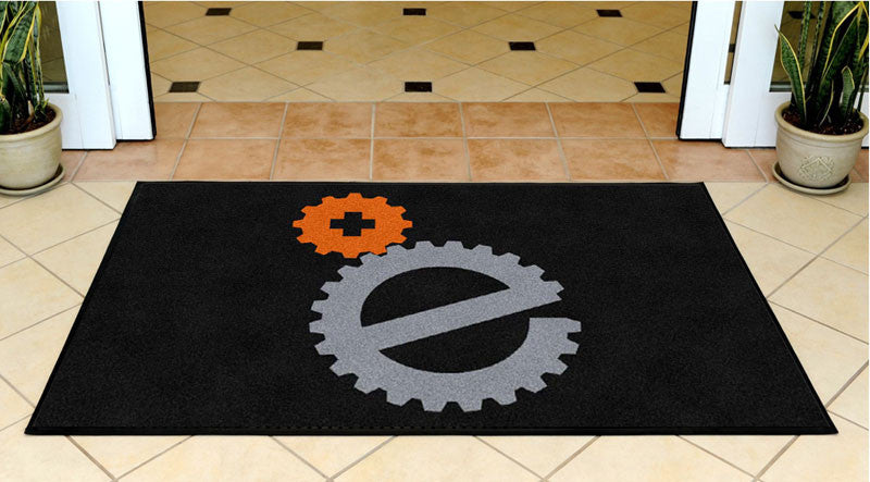 ECR 3 X 5 Rubber Backed Carpeted HD - The Personalized Doormats Company