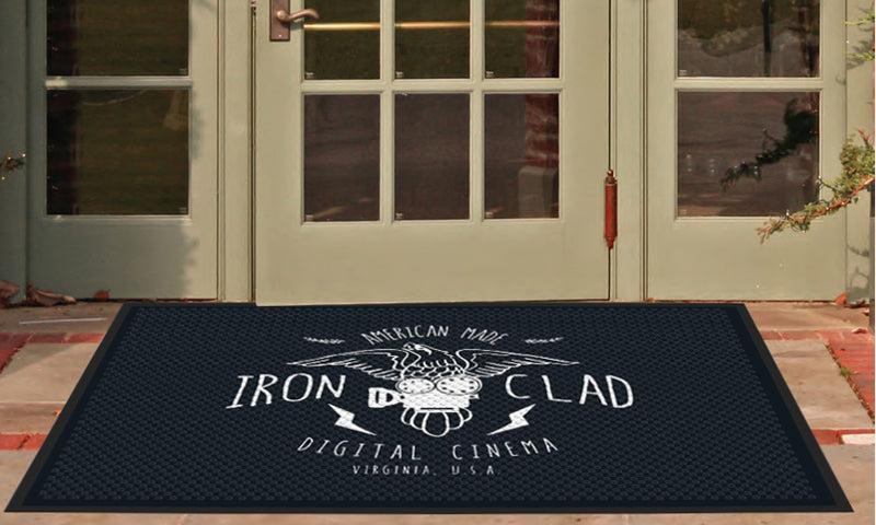 Ironclad Outdoor Rug 4 X 6 Rubber Scraper - The Personalized Doormats Company