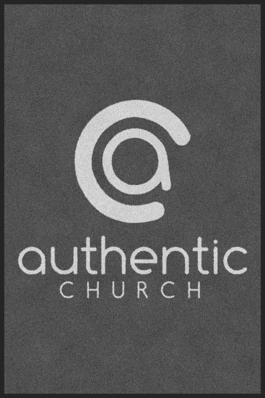 Authentic Church 4 X 6 Rubber Backed Carpeted - The Personalized Doormats Company