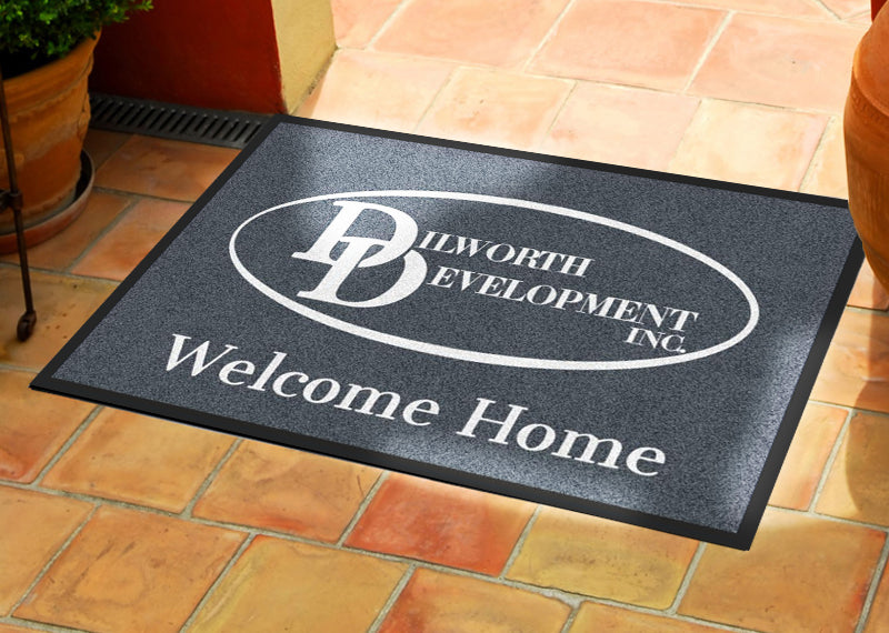 2 X 3 - CREATE -111257 2 x 3 Rubber Backed Carpeted HD - The Personalized Doormats Company