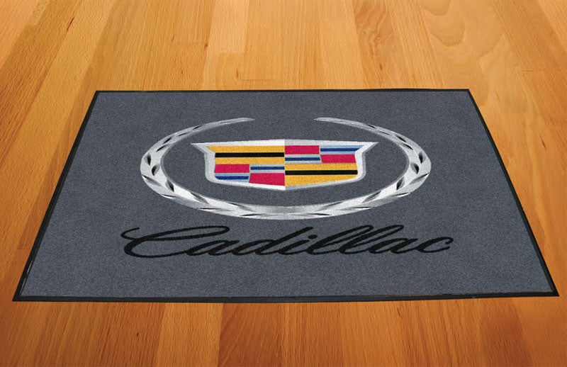 Caddy matt 2.0 2 x 3 Rubber Backed Carpeted HD - The Personalized Doormats Company