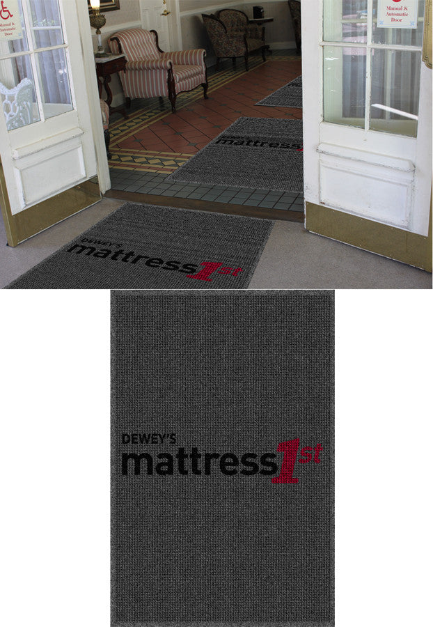 Dewey Furniture 4 x 6 Waterhog Impressions - The Personalized Doormats Company