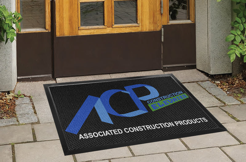 3 X 4 - CREATE -110093 3 X 4 Luxury Berber Inlay - The Personalized Doormats Company