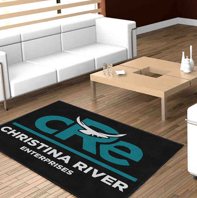 Christina RIver Enterprises 4 x 6 Custom Plush 30 HD - The Personalized Doormats Company