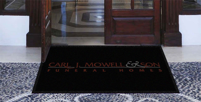 CARL J MOWELL & SON 3 X 5 Waterhog Impressions - The Personalized Doormats Company