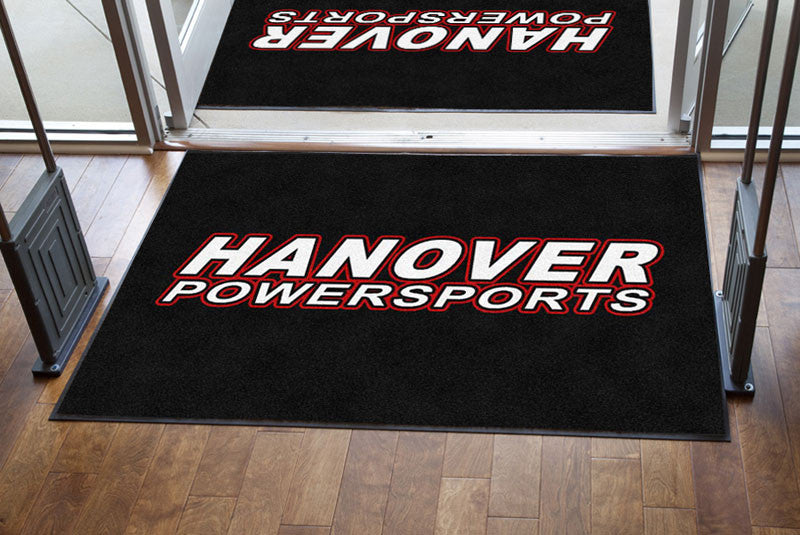 Hanover Powersports 4 X 6 Rubber Backed Carpeted - The Personalized Doormats Company