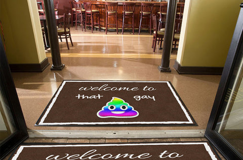 that gay doormat