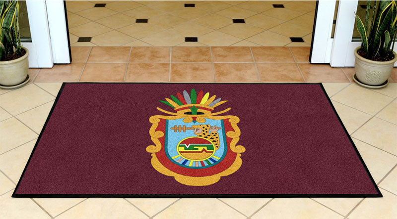 Guerrero Group, LTD. 3 X 5 Rubber Backed Carpeted HD - The Personalized Doormats Company