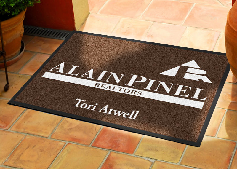 APR door mat 2 X 3 Rubber Backed Carpeted HD - The Personalized Doormats Company