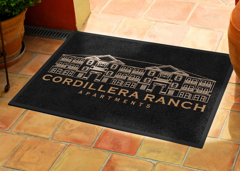 Cordillera Ranch Apartments 2 X 3 Rubber Backed Carpeted HD - The Personalized Doormats Company
