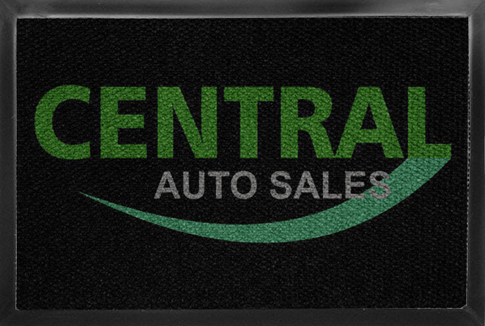 Central Auto Sales 2 x 3 Luxury Berber Inlay - The Personalized Doormats Company
