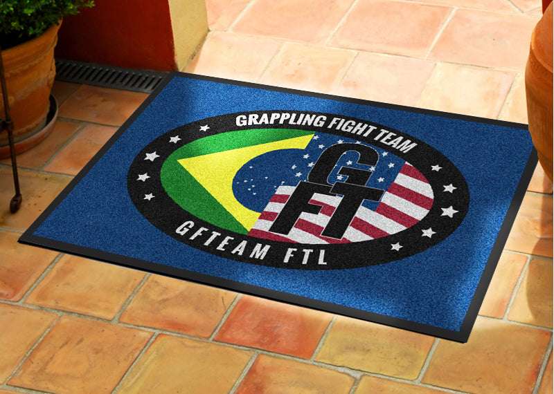 GFT Ft. Lauderdale 2 X 3 Rubber Backed Carpeted HD - The Personalized Doormats Company