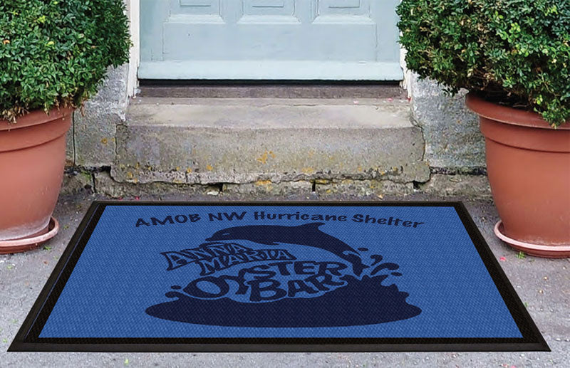AMOB Mat 3 x 4 Luxury Berber Inlay - The Personalized Doormats Company