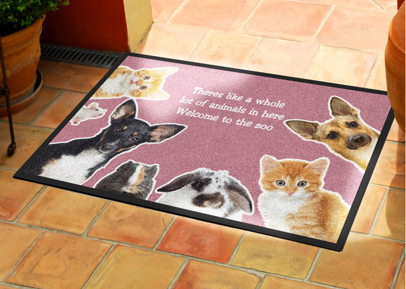 Christina 2 X 3 Rubber Backed Carpeted HD - The Personalized Doormats Company