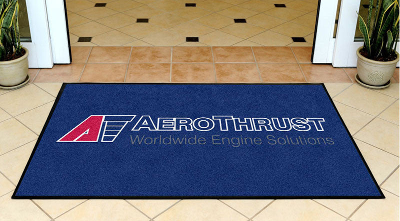 AEROTHRUST HOLDING 3 X 5 Rubber Backed Carpeted HD - The Personalized Doormats Company