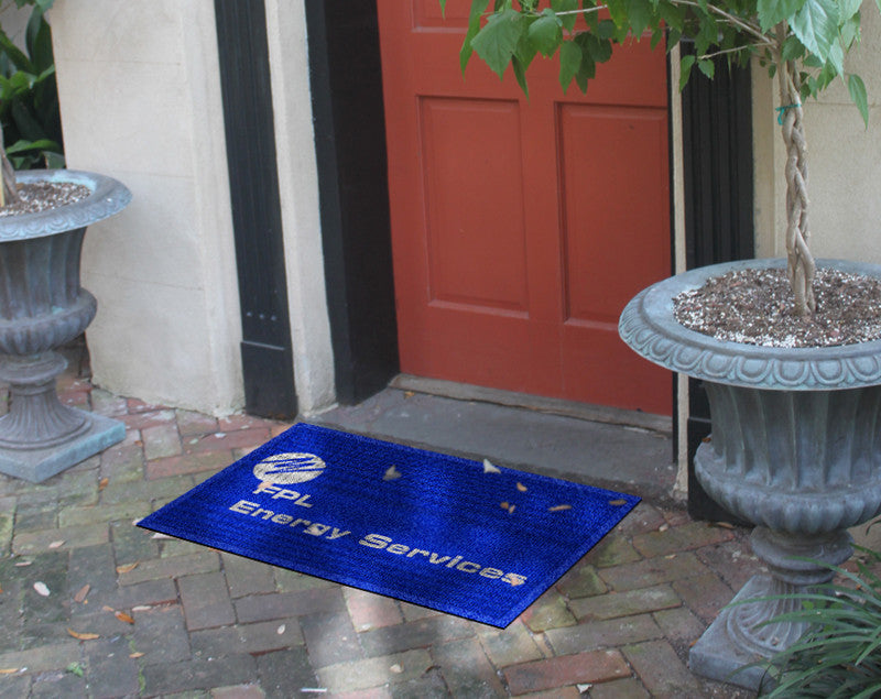 FPL Energy Services 2 x 3 Waterhog Impressions - The Personalized Doormats Company