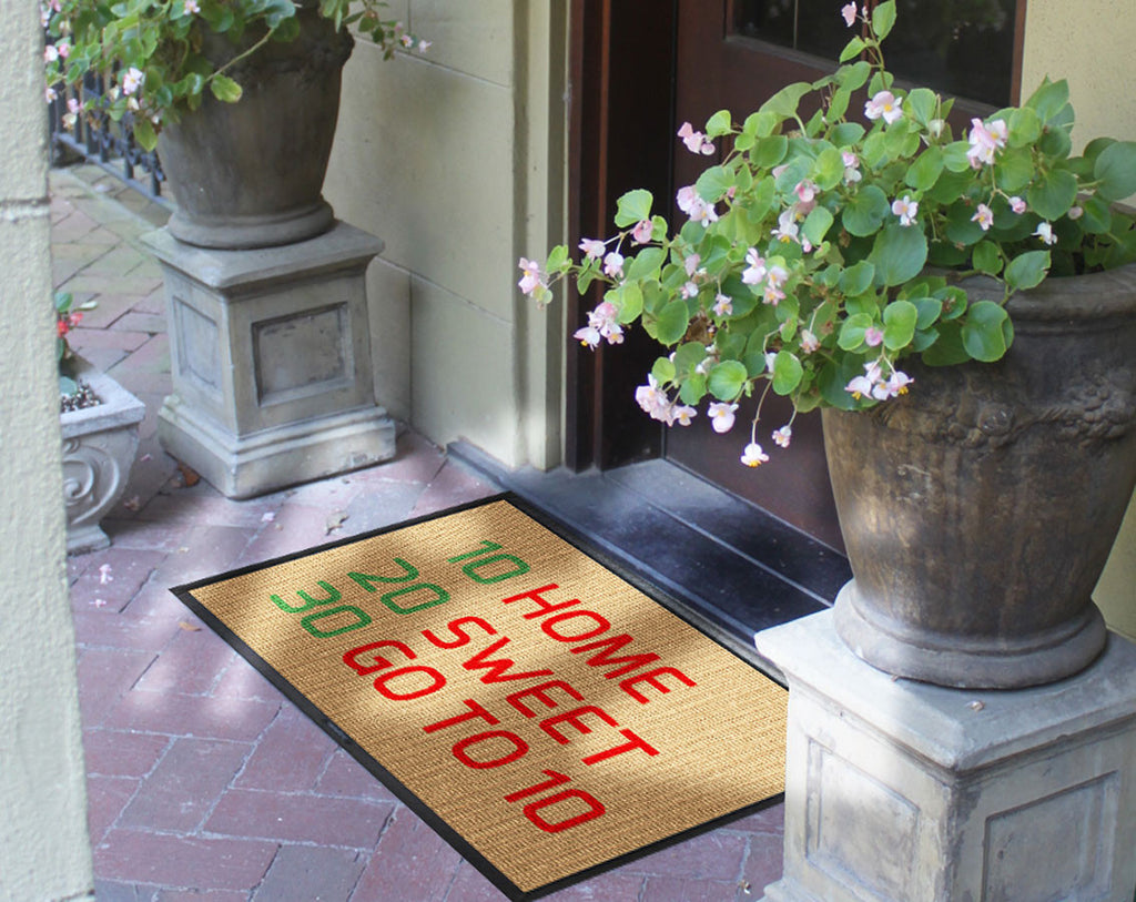 Home Sweet Home 2 x 3 Waterhog Inlay - The Personalized Doormats Company