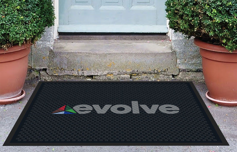 Evolve Scraper 3 x 4 Rubber Scraper - The Personalized Doormats Company