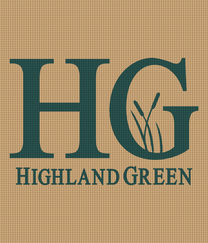 Highland Green 6 X 7 Waterhog Inlay - The Personalized Doormats Company