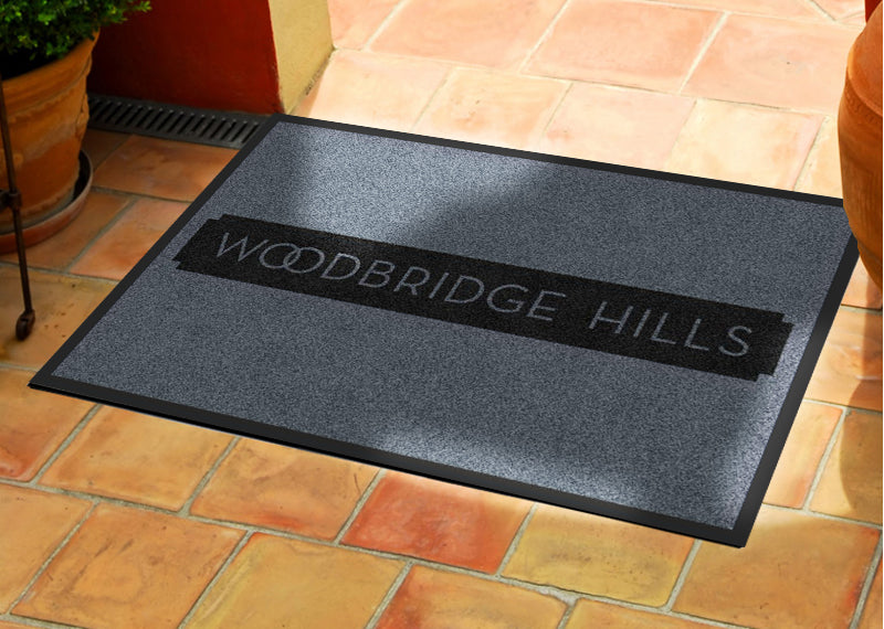 Continental mat 2 X 3 Rubber Backed Carpeted HD - The Personalized Doormats Company