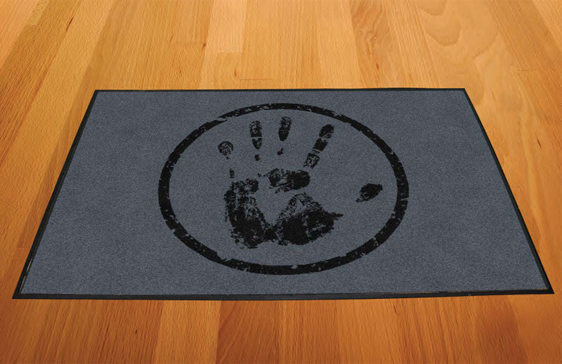 Handy Man 2 X 3 Rubber Backed Carpeted HD - The Personalized Doormats Company