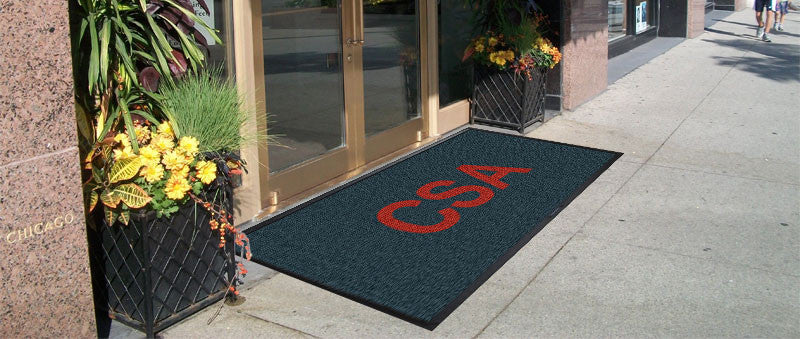 CSA 4 x 8 Waterhog Inlay - The Personalized Doormats Company