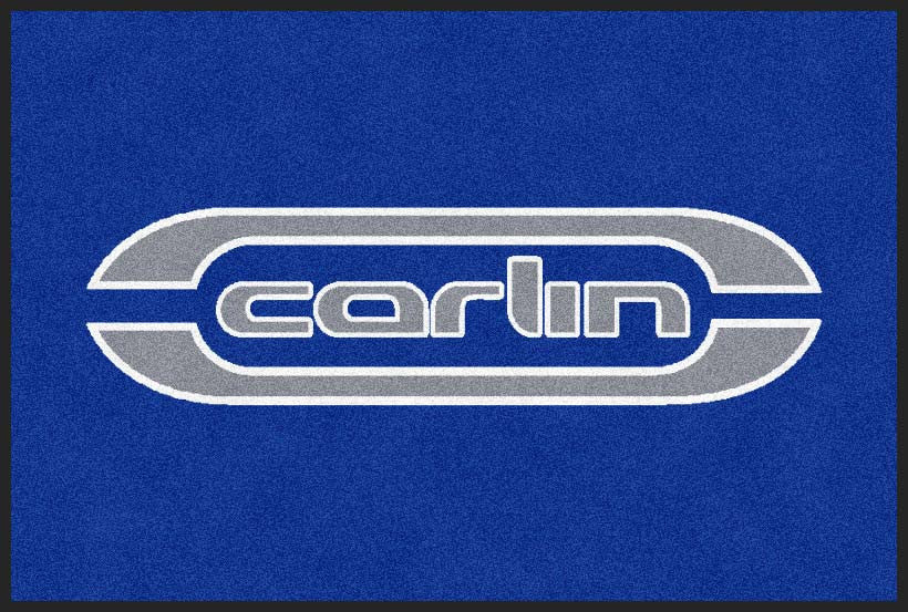 Carlin Motorsport 2 X 3 Rubber Backed Carpeted HD - The Personalized Doormats Company