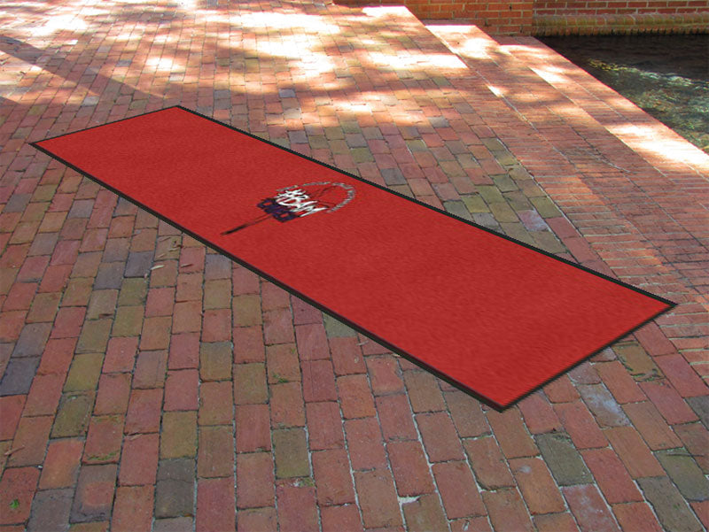 #BAM Church Logo 2 X 12 Rubber Backed Carpeted HD Custom Shape - The Personalized Doormats Company