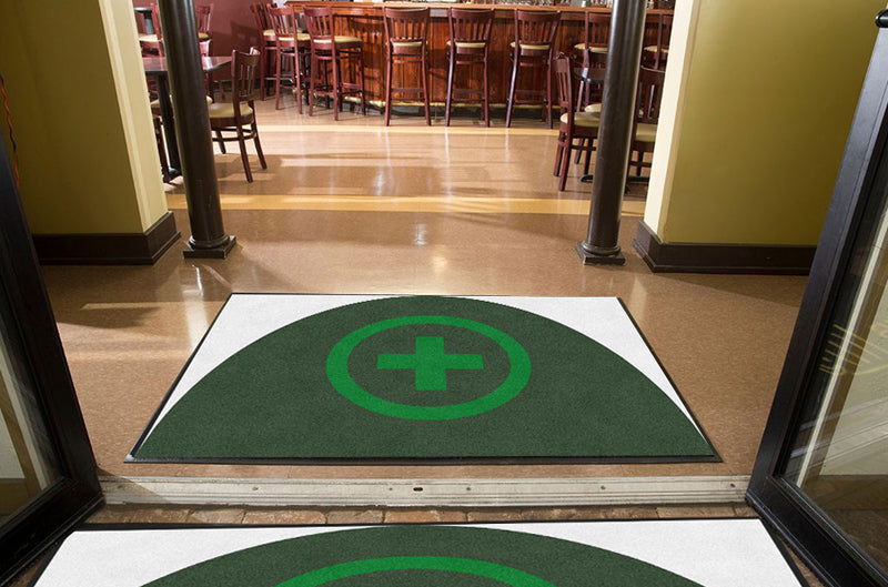 GGMF 4 X 6 Rubber Backed Carpeted HD - The Personalized Doormats Company