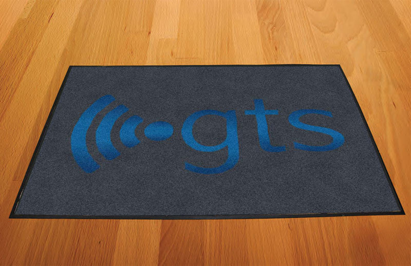 GTS 2 X 3 Rubber Backed Carpeted HD - The Personalized Doormats Company