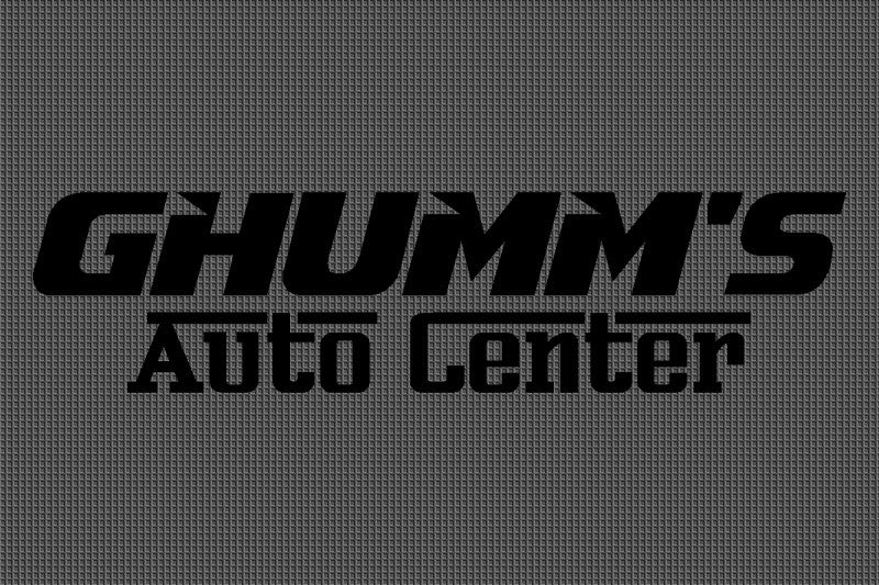 Ghumm's Auto Center 4 x 6 Waterhog Impressions - The Personalized Doormats Company