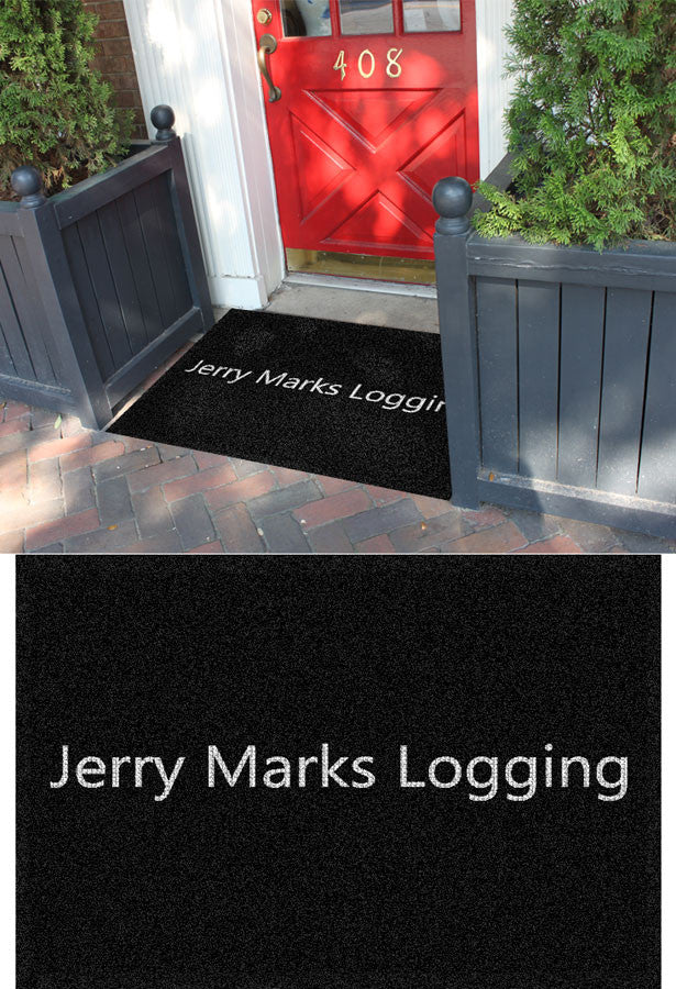 Jerry Marks Logging 3 X 4 Waterhog Impressions - The Personalized Doormats Company