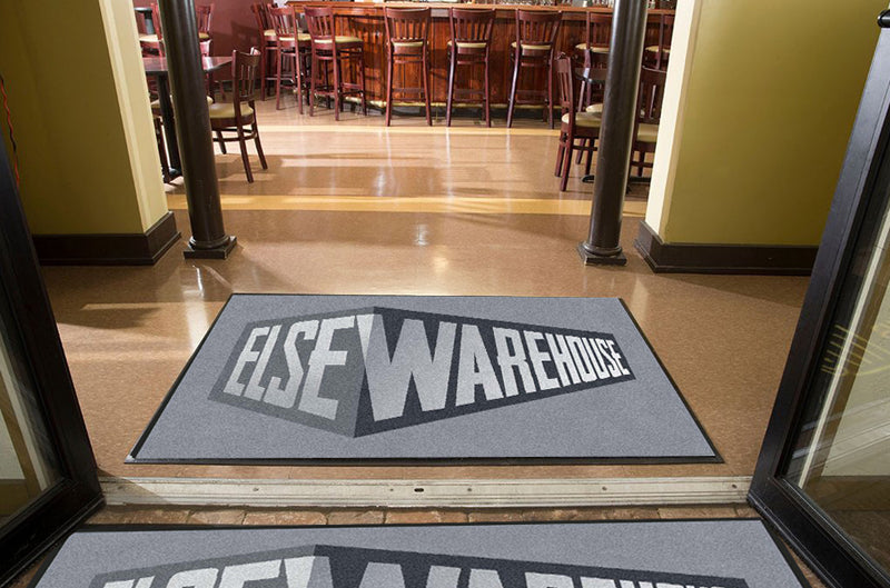 ElseWarehouse 4 X 6 Rubber Backed Carpeted HD - The Personalized Doormats Company