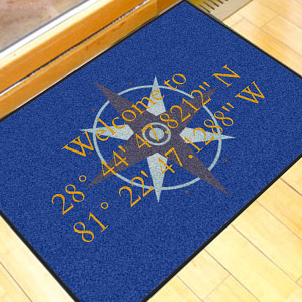 Write Your Own Compass Rose 2u0027 X 3u0027 Doormat