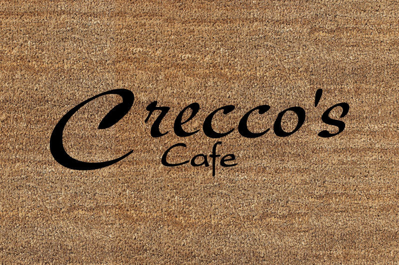 Creccos 2 x 3 Flocked Classic Coir (PDC) - The Personalized Doormats Company