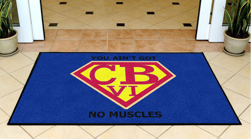 Christy 3 X 5 Rubber Backed Carpeted HD - The Personalized Doormats Company