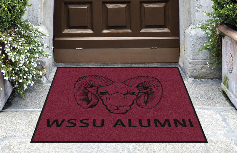 blakeney 3 X 3 Rubber Backed Carpeted HD - The Personalized Doormats Company