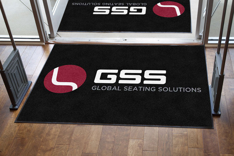 GSS 4 X 6 Rubber Backed Carpeted HD - The Personalized Doormats Company