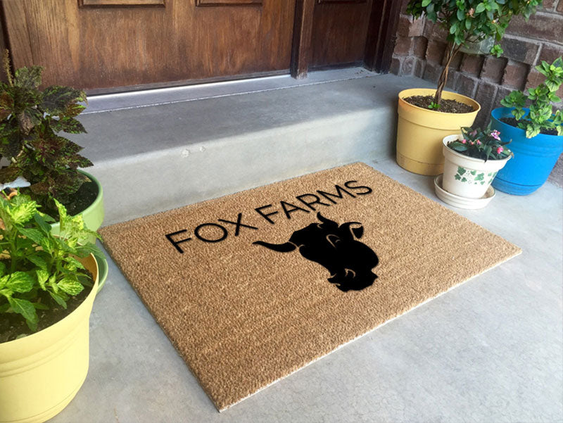 Fox Farms 2 x 3 Flocked Classic Coir (PDC) - The Personalized Doormats Company