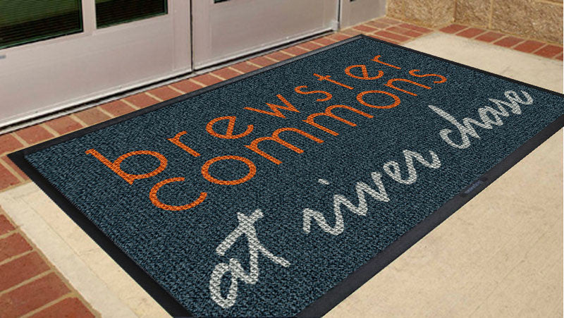 Brewster Commons 3 x 5 Waterhog Inlay - The Personalized Doormats Company