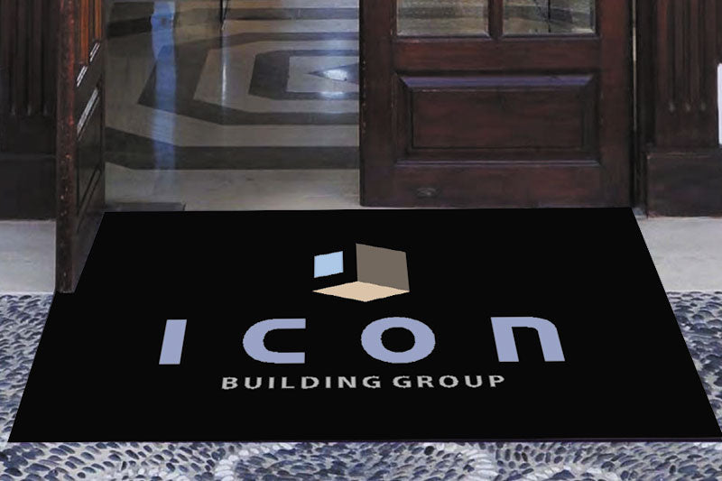 Icon Building Group 3 X 5 Rubber Scraper - The Personalized Doormats Company