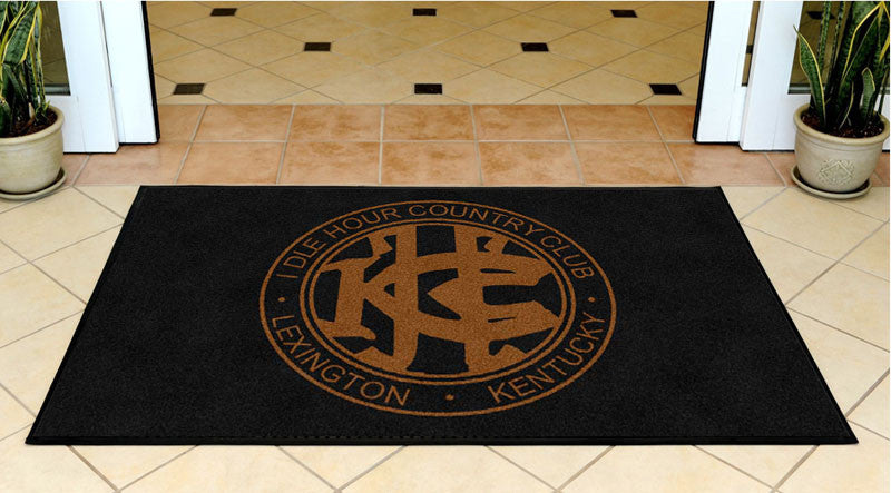 IHCC 3 X 5 Rubber Backed Carpeted HD - The Personalized Doormats Company