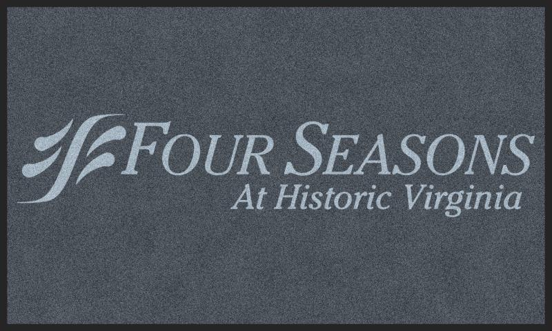 Four Seasons 3 X 5 Rubber Backed Carpeted HD - The Personalized Doormats Company