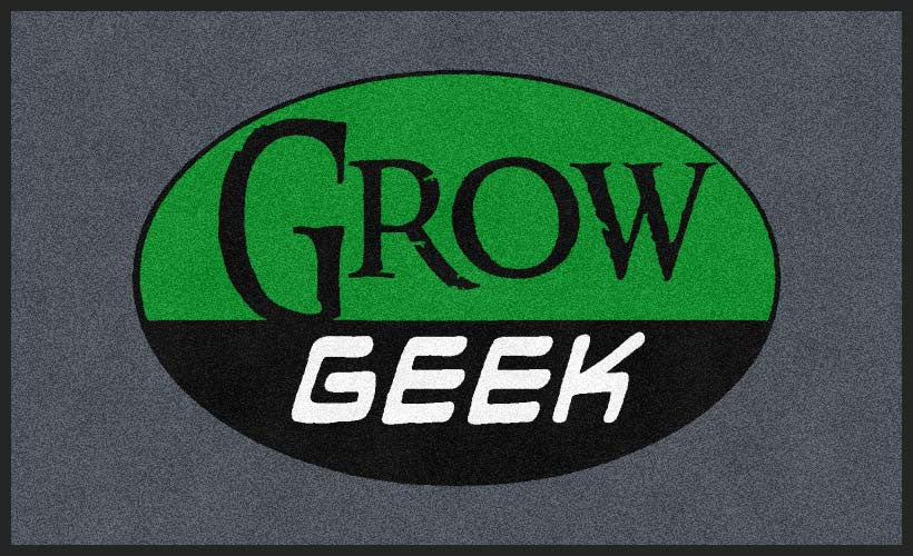 Grow Geek 3 x 5 Rubber Backed Carpeted HD - The Personalized Doormats Company