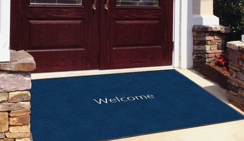 1965 4 x 6 Flocked Olefin 1 Color - The Personalized Doormats Company
