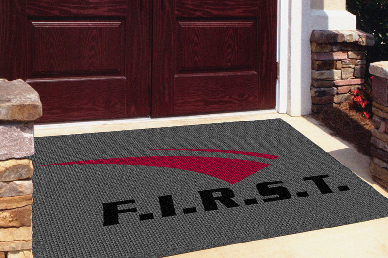 FIRST CALL FIRST 4 X 6 Waterhog Impressions - The Personalized Doormats Company