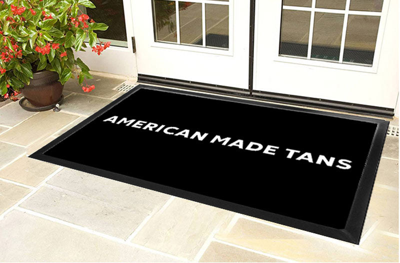 American Made Tans LLC 4 X 6 Luxury Berber Inlay - The Personalized Doormats Company