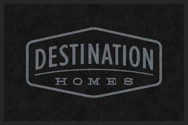 Destination Homes 2 x 3 Rubber Backed Carpeted HD - The Personalized Doormats Company