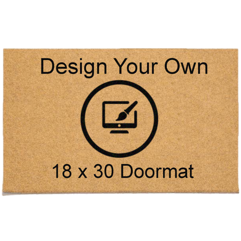 "Design Your Own 18"" x 30"" DuraCoir Doormat Design Your Own DuraCoir Doormat - The Personalized Doormats Company"